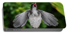 Baby Scrub Jay Wants Food Portable Battery Charger