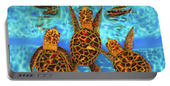 Baby Sea Turtles Portable Battery Charger