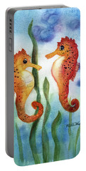 Baby Seahorses Portable Battery Charger