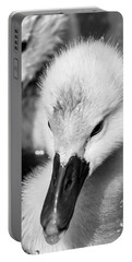 Baby Swan Headshot Portable Battery Charger