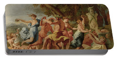 Bacchanal Before A Herm Portable Battery Charger