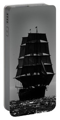 Back Lit Tall Ship Portable Battery Charger