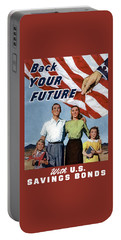 Back Your Future With Us Savings Bonds Portable Battery Charger