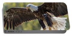 Backlit Eagle Portable Battery Charger