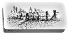 Backlit Fence Portable Battery Charger