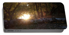 Backlit Trees Portable Battery Charger