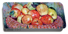 Backyard Apples Portable Battery Charger