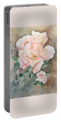 Backyard Rose Portable Battery Charger