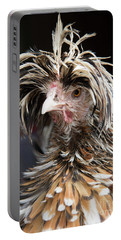 Bad Hair Day For A Frizzle Tolbount Polish Hen Portable Battery Charger
