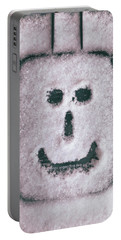 Bad Weather, Good Face Portable Battery Charger