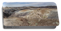 Portable Battery Charger featuring the photograph Badlands In Petrified Forest by Melany Sarafis