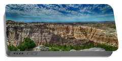 Badlands Landscape Portable Battery Charger
