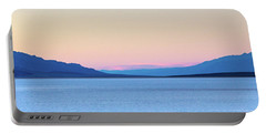 Portable Battery Charger featuring the photograph Badwater - Death Valley by Peter Tellone