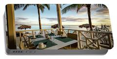 Bahamas Breakfast Spot Portable Battery Charger