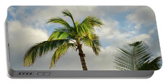 Bahamas Palm Trees Portable Battery Charger