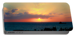 Bahamas Sunset Portable Battery Charger
