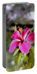Bahamian Flower Portable Battery Charger
