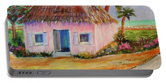 Bahamian Shack Painting Portable Battery Charger