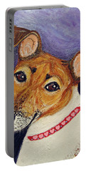 Bailey Terrier Mix Portable Battery Charger