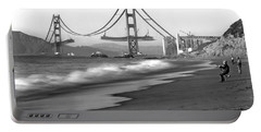 Baker Beach In Sf Portable Battery Charger