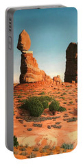 Balanced Rock At Arches National Park Portable Battery Charger