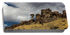 Balanced Rock Idaho Journey Landscape Photography By Kaylyn Franks Portable Battery Charger