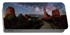 Balanced Rock Milky Way Portable Battery Charger