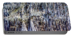 Bald Cypress In Caddo Lake Portable Battery Charger by Sumoflam Photography