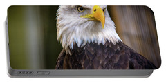 Portable Battery Charger featuring the photograph Bald Eagle by Lisa L Silva