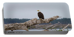 Bald Eagle #1 Portable Battery Charger