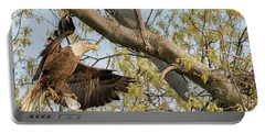 Bald Eagle Catch Of The Day  Portable Battery Charger