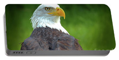 Bald Eagle Portable Battery Charger by Franziskus Pfleghart