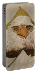 Bald Eagle Front View Portable Battery Charger