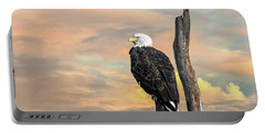 Bald Eagle Inspiration Portable Battery Charger