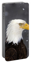Bald Eagle Intensity Portable Battery Charger