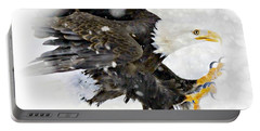 Bald Eagle Portable Battery Charger