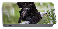Bald Eagle Lifting Off Portable Battery Charger
