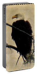 Portable Battery Charger featuring the photograph Bald Eagle by Lori Seaman