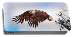 Bald Eagle  Portable Battery Charger by Mark Andrew Thomas