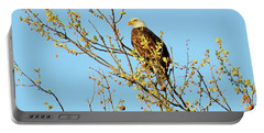 Bald Eagle, Parke County, Indiana Portable Battery Charger