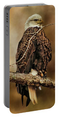 Bald Eagle Perch Portable Battery Charger by TnBackroadsPhotos