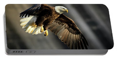 Bald Eagle Prepares To Dive Portable Battery Charger