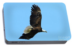 Portable Battery Charger featuring the photograph Bald Eagle Series IIi by Deborah Benoit
