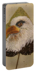 Bald Eagle Side Veiw Portable Battery Charger