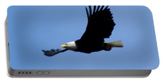 Bald Eagle Soaring High Portable Battery Charger