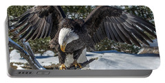 Bald Eagle Spread Portable Battery Charger