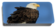 Bald Eagle Squared Portable Battery Charger