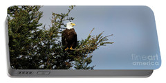 Bald Eagle - Taking A Break Portable Battery Charger