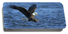 Bald Eagle Talons Up Portable Battery Charger by Coby Cooper