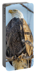 Bald Eagle Vertical Profile Portable Battery Charger